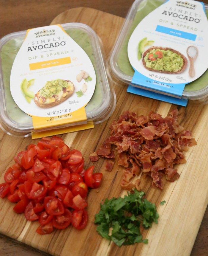 acon Avocado Bruschetta Ingredients
