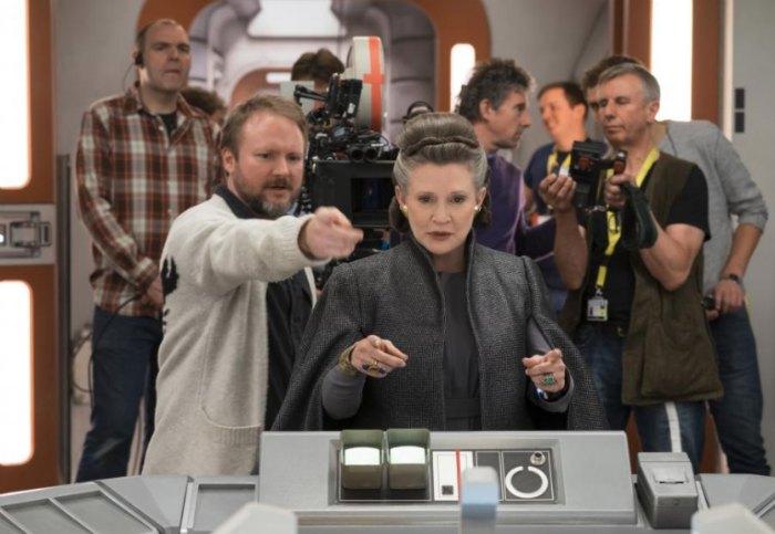 Carrie Fisher Last Jedi