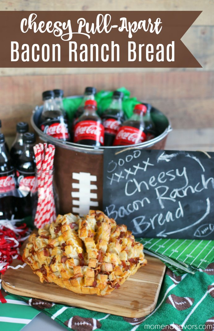 Cheesy Bacon Ranch Pull Apart Bread