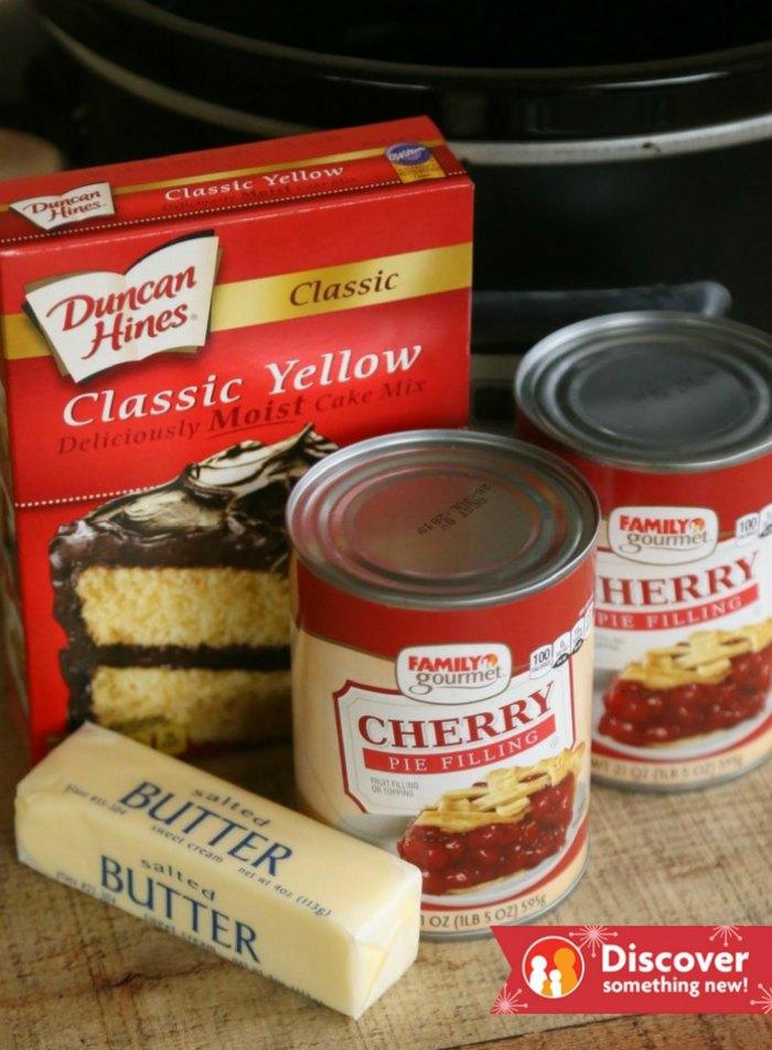 Dump Cake Ingredients