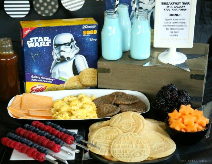 Eggo Star Wars Pancakes Party