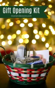 Christmas Gift Opening Kit