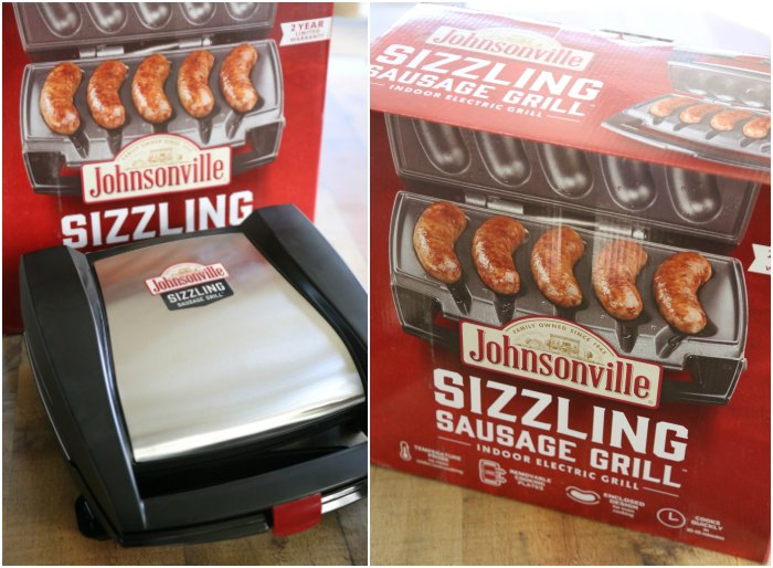 ohnsonville Sizzling Sausage Grill