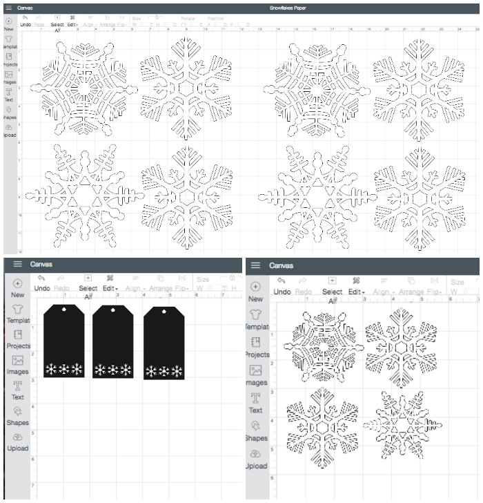 Snowflake Cut Files