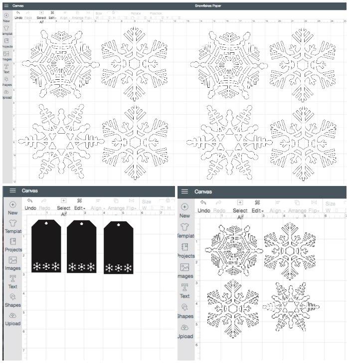 Snowflake Cut Files