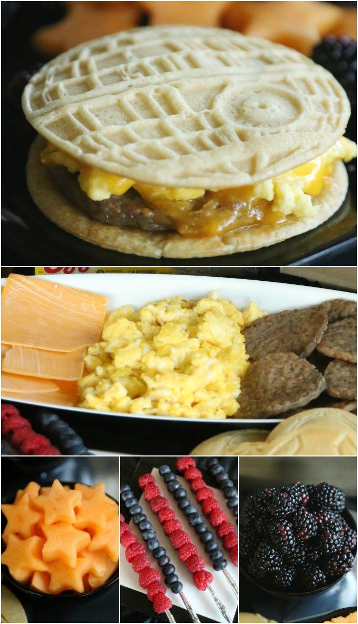 Star Wars Breakfast Food