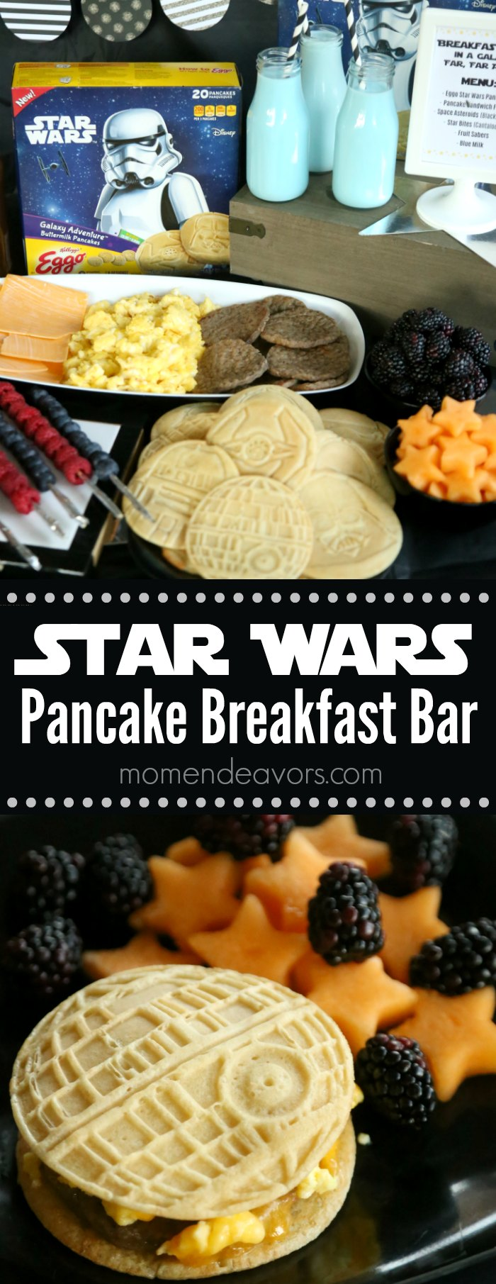 Star Wars Pancake Breakfast Bar Party