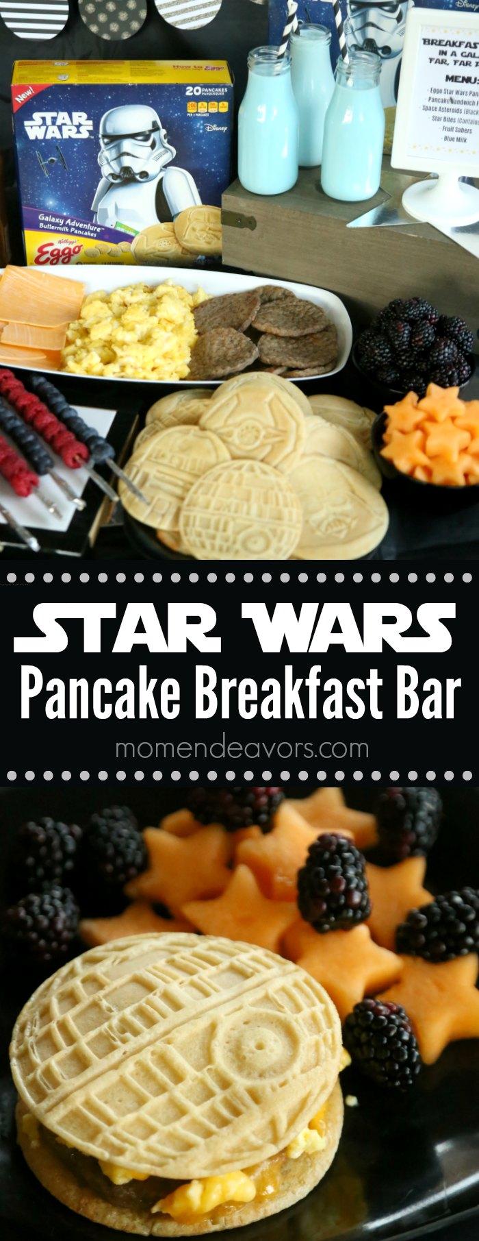 Star Wars Pancake Breakfast Bar Party
