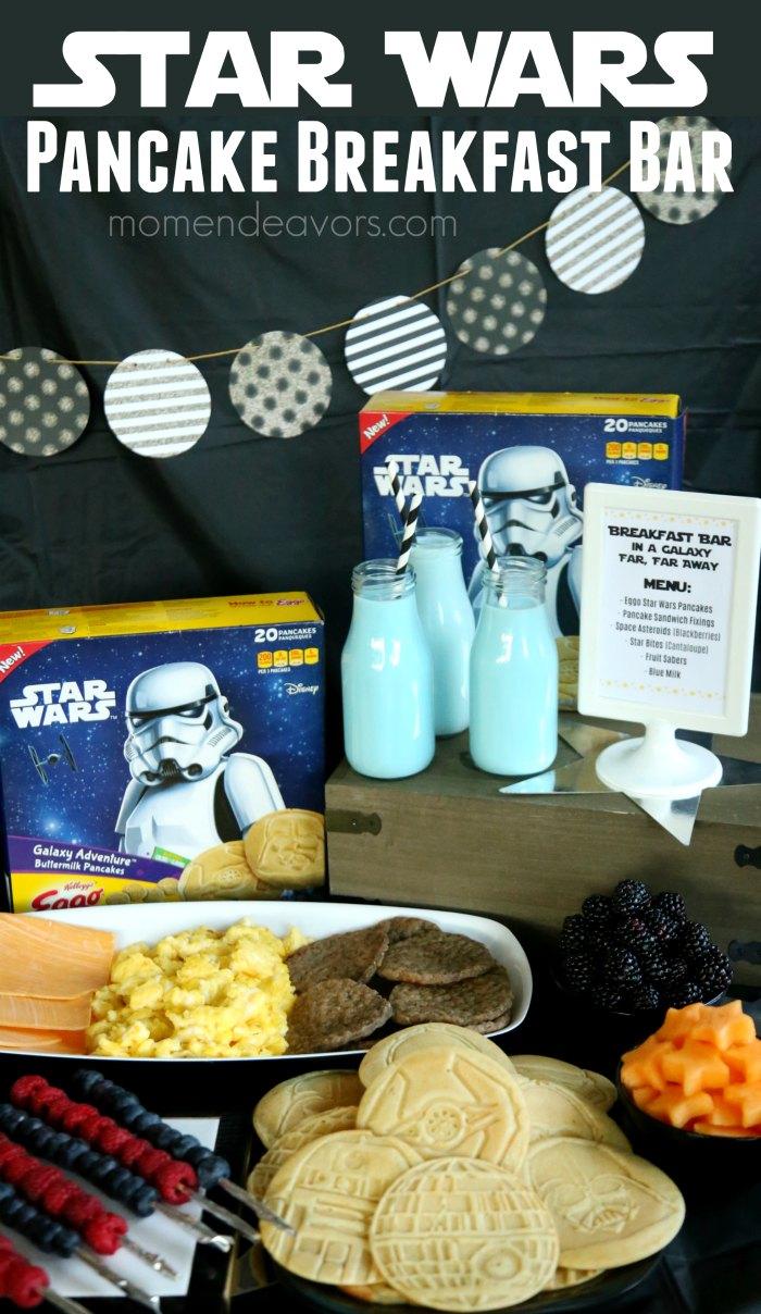Star Wars Pancake Breakfast Bar