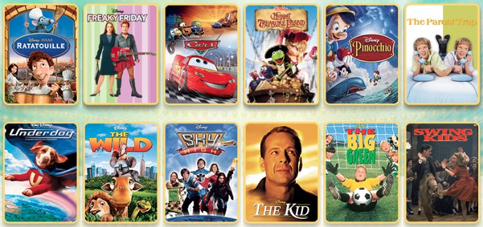 Disney Family Movies Free Preview