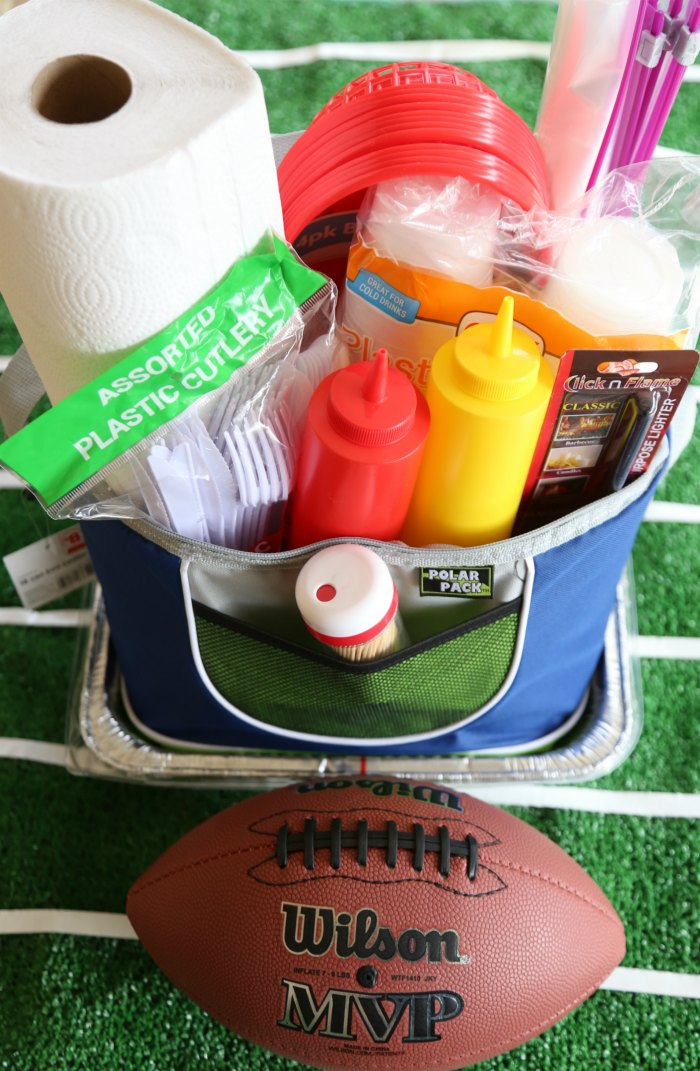 Football Tailgating Kit
