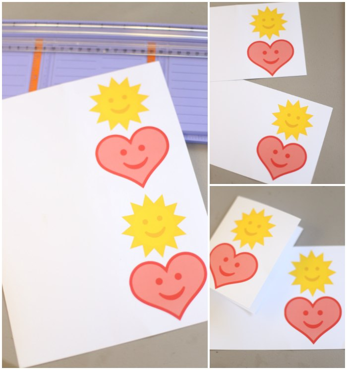 Free Printable Heart Card