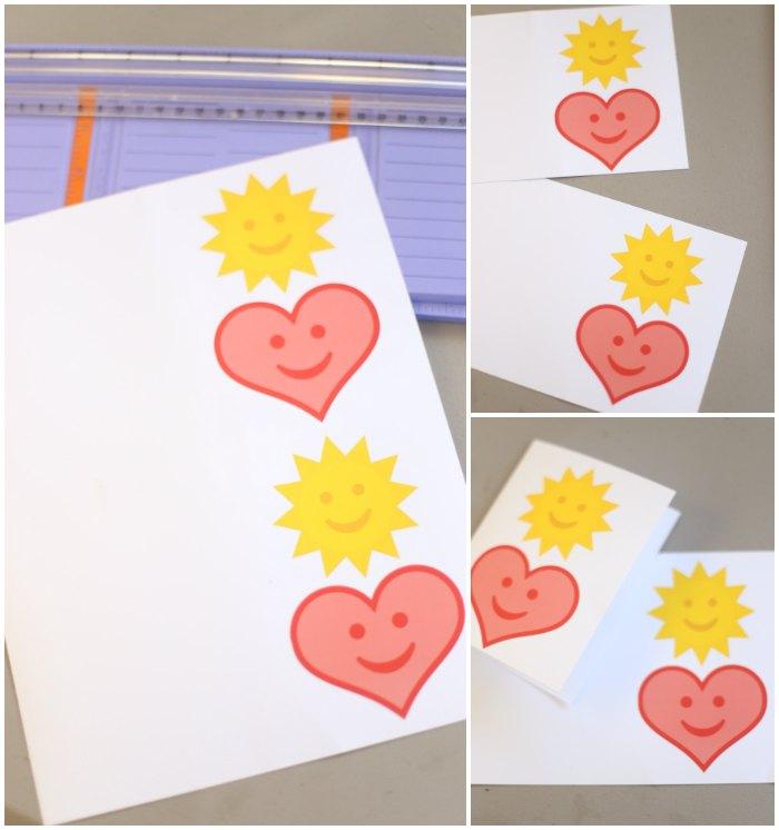 Free Printable Heart Card