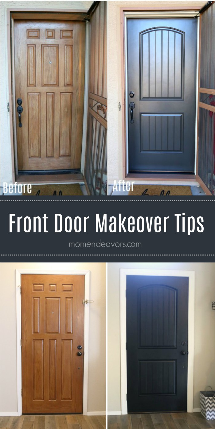 Front Door Makeover Before After Photos