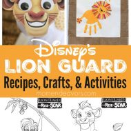 The Lion Guard Recipes, Crafts, & Activites