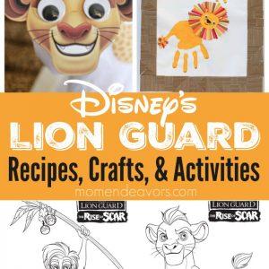Lion Guard Recipes & Crafts