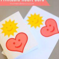 Printable Heart Card