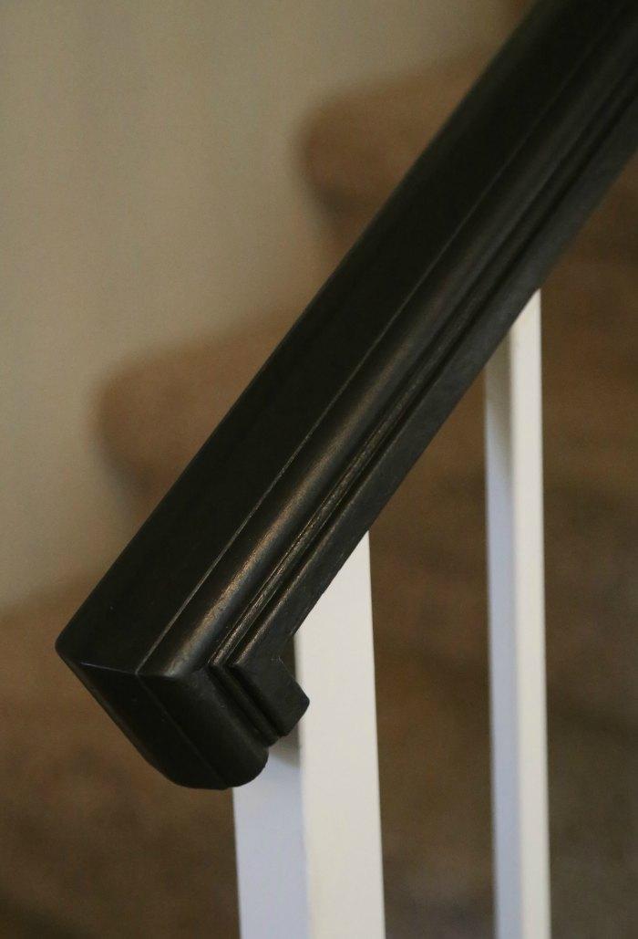 Black Stair Banister