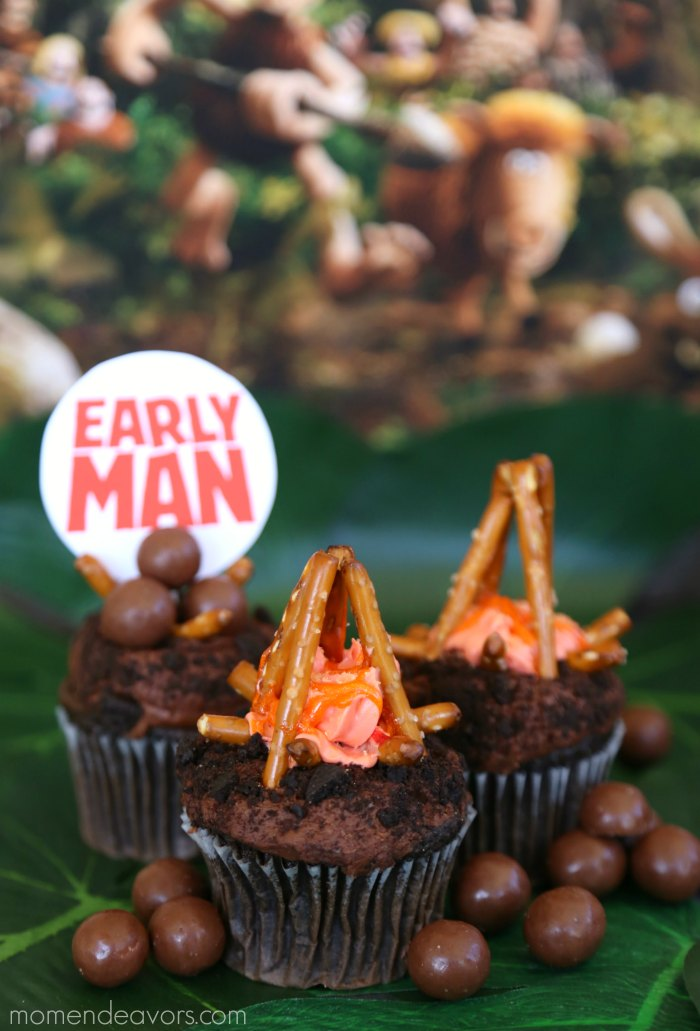 Early Man Movie Cupcakes