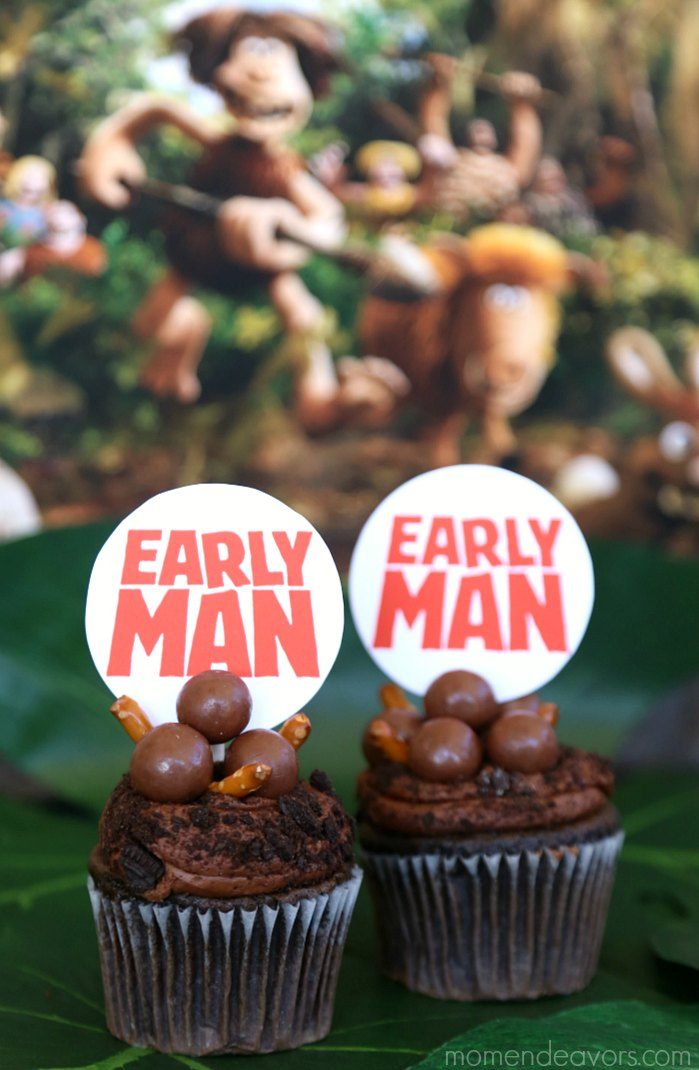 Early Man Movie Party Cupakes