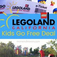 Legoland California Kids Go Free Deal