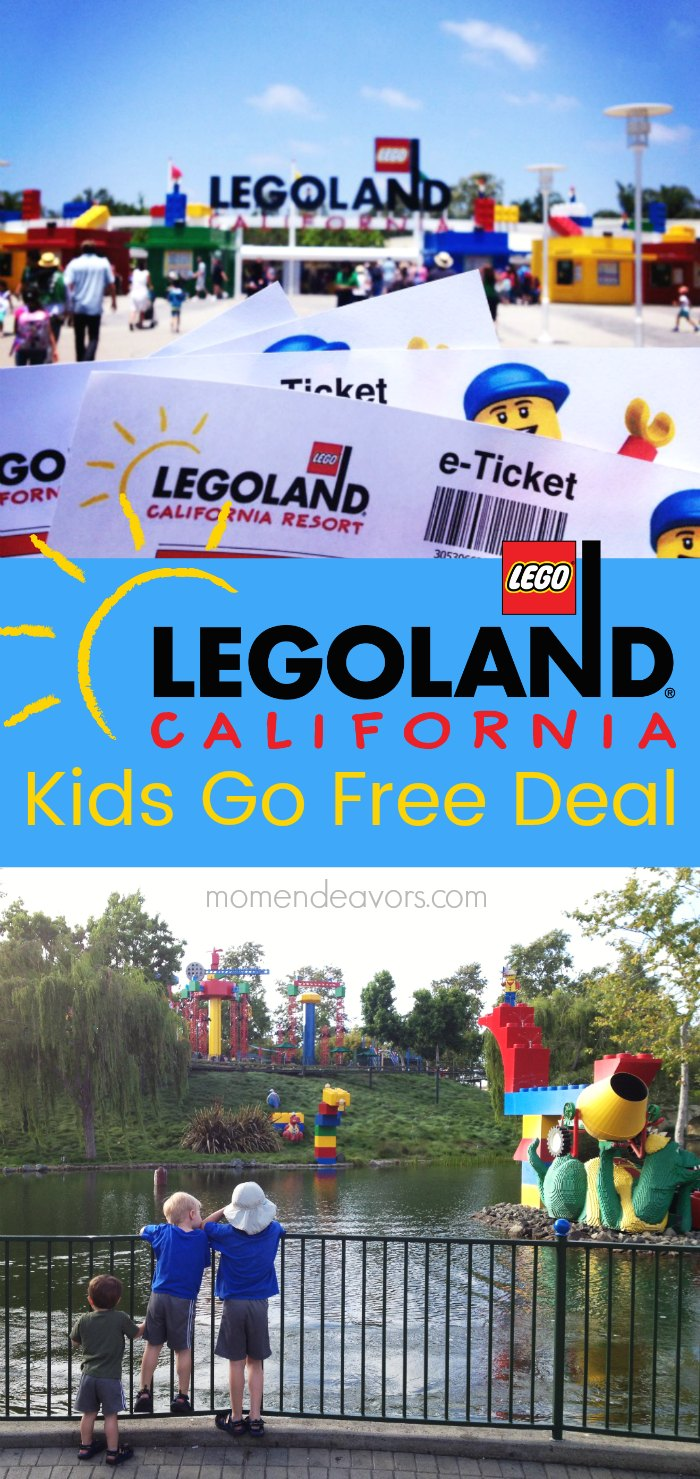 Legoland California Kids Go Free Deal