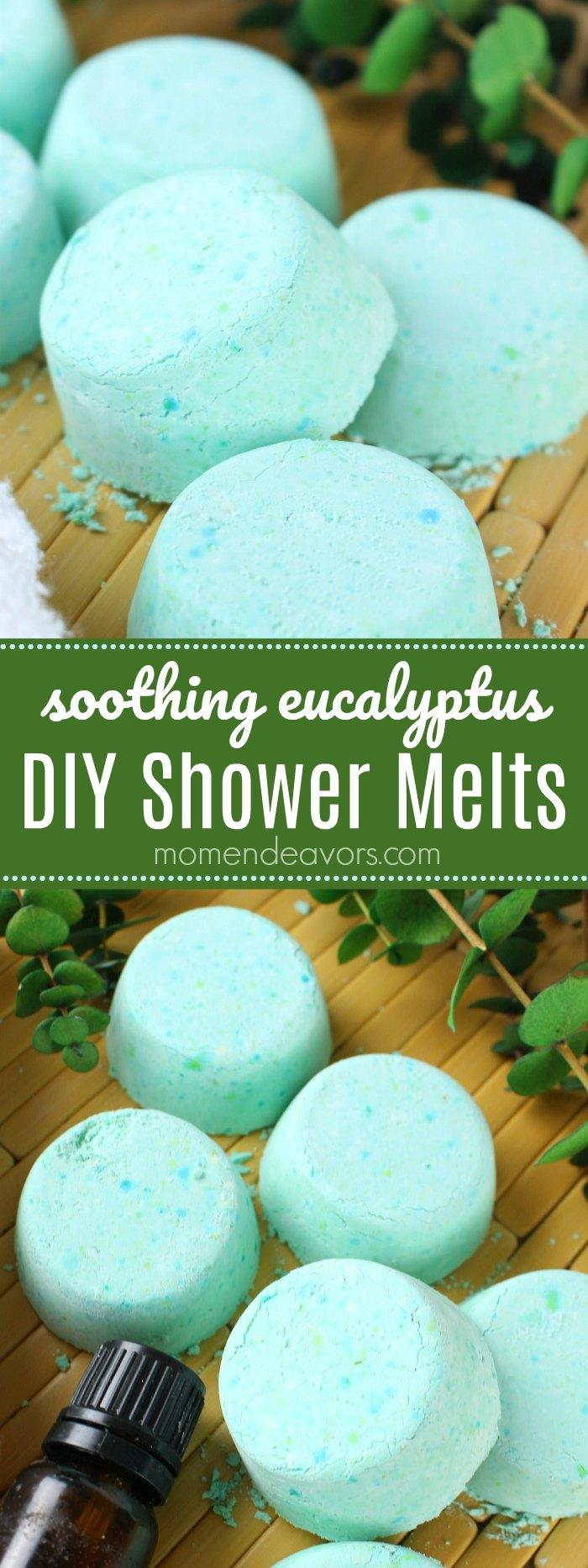 Soothing Eucalyptus Shower Melts