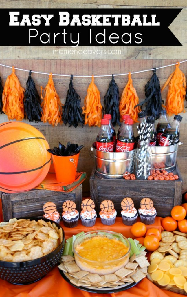 easy basketball party ideas