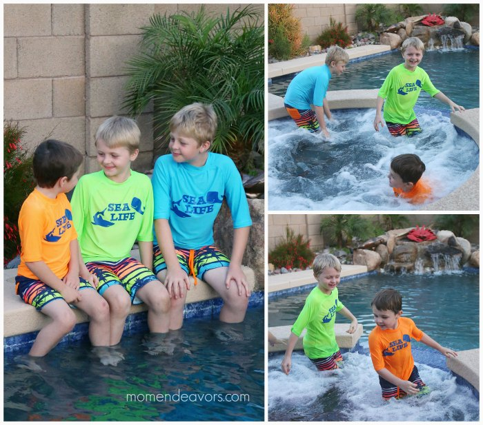 Custom Kids Swim Tees