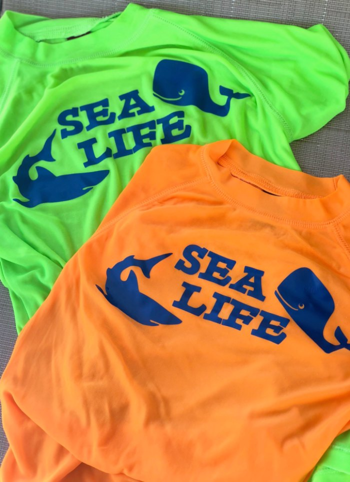 Custom Ocean Swim Shirts