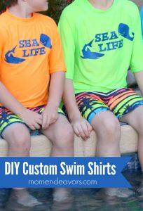 DIY Custom Swim Shirts