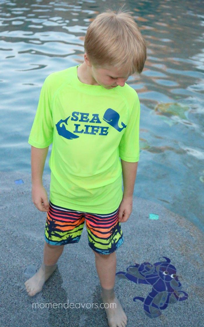 DIY Kids Swim Shirt