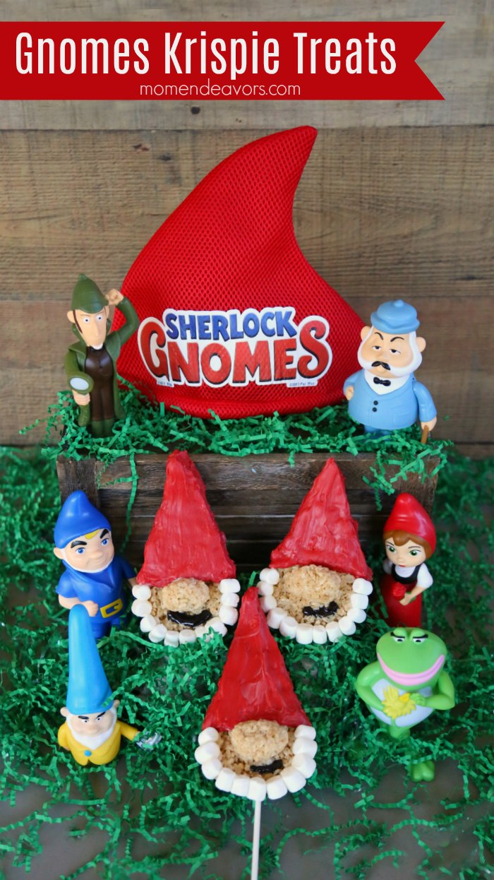 Gnomes Krispie Treats