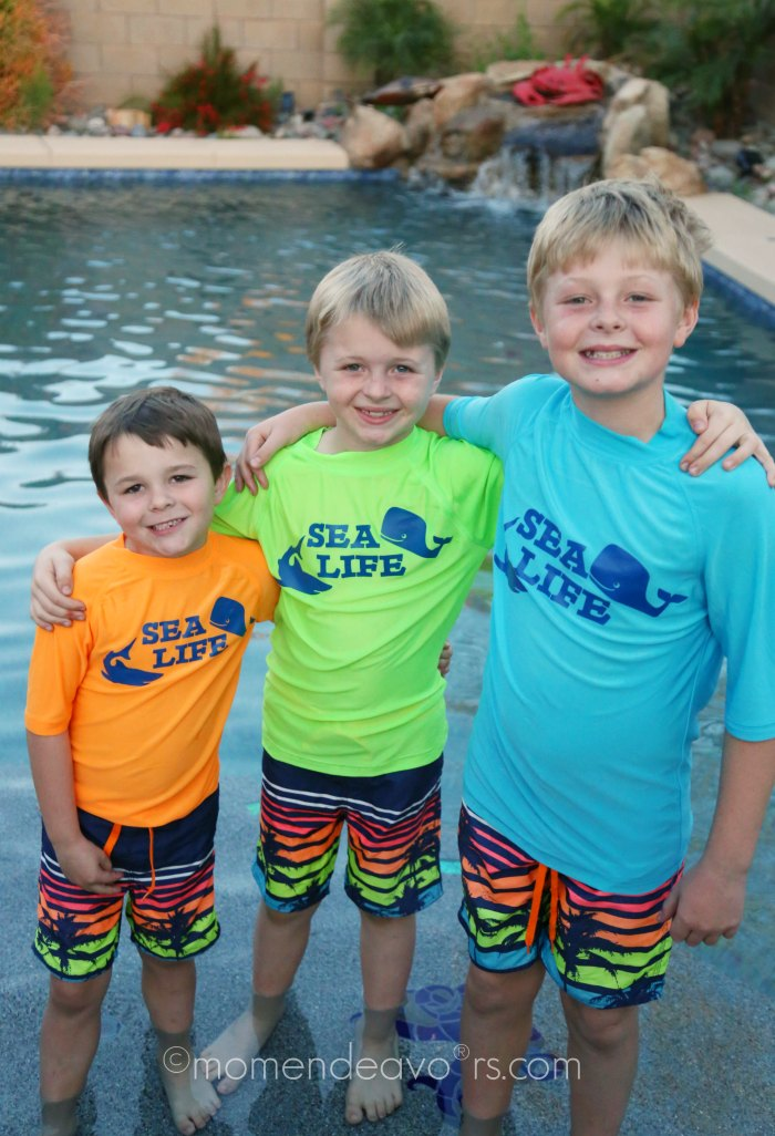 Matching Swim Shirts for Kids