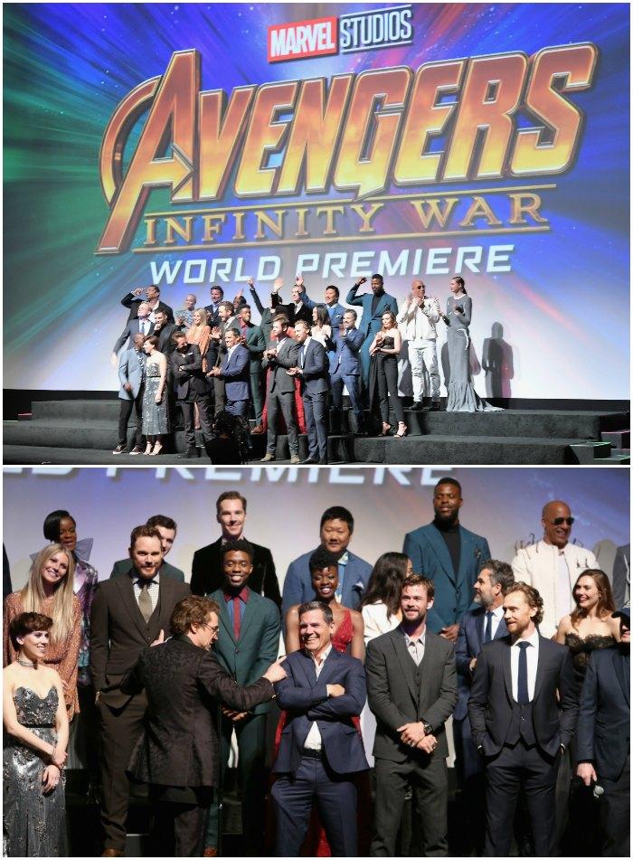 Avengers Cast World Premiere