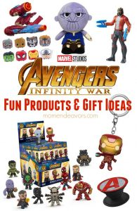 Avengers Infinity War Must Have Products & Gifts