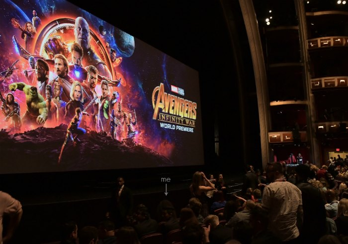 Avengers Infinity War Premiere Dolby Theater