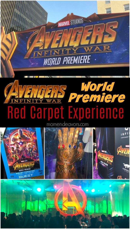 Avengers Infinity War World Premiere Experience