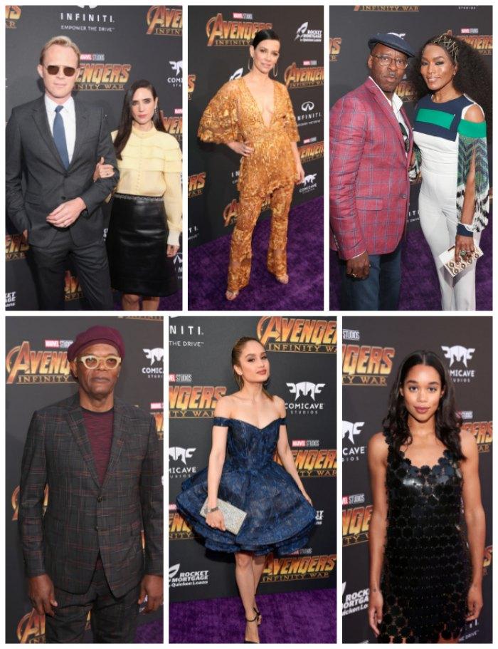 Avengers Red Carpet Celebrities