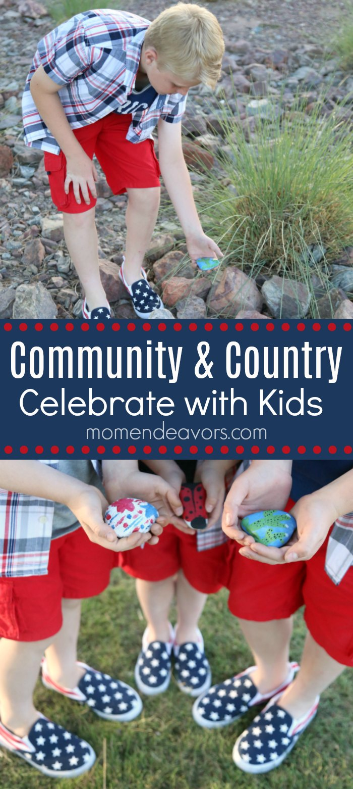 Celebrating Community & Country with Kids