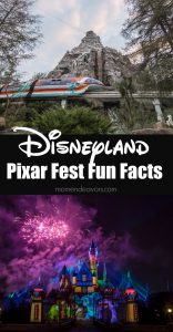 Disneyland Pixar Fest Fun Facts