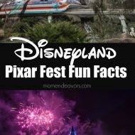 Disneyland Pixar Fest Fun Facts (+ Pixar Prize Pack Giveaway!!)