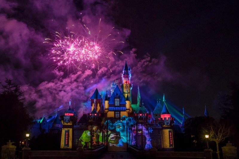 Pixar Fest Disneyland Fireworks