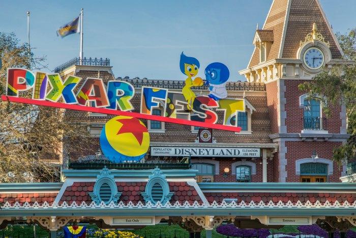 Disneyland pixar fest