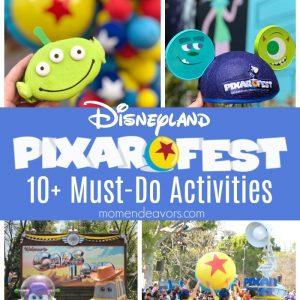 What to do at Disneyland Pixar Fest