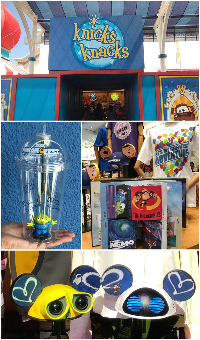 Knick's Knacks Pixar Store