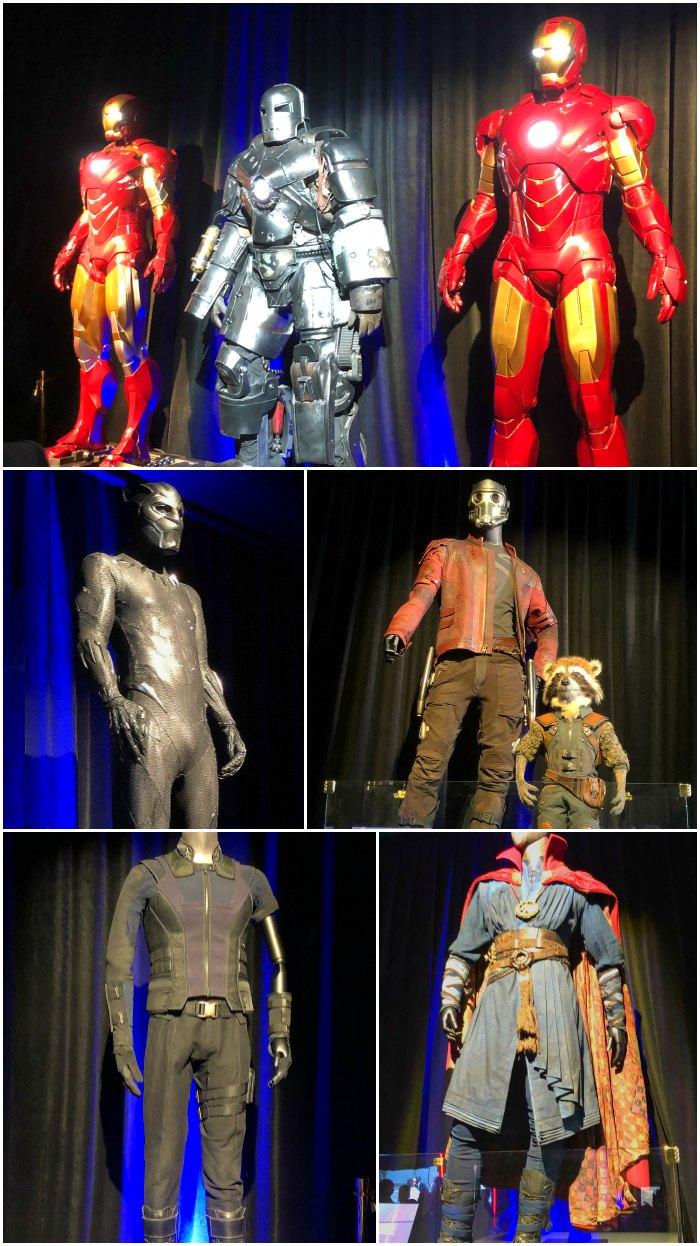arvel Avengers Costumes