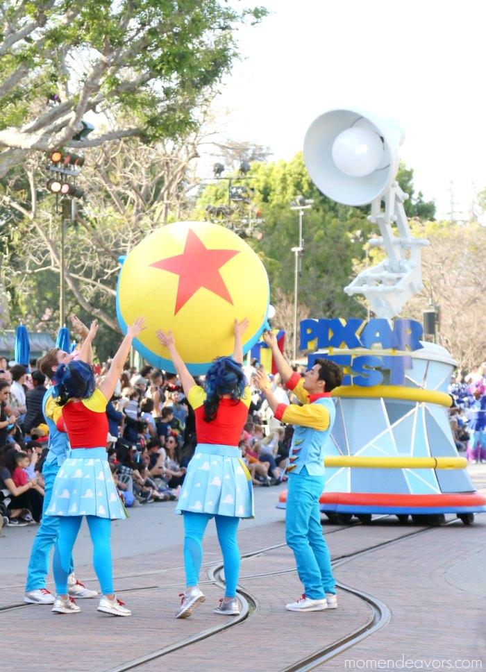 Pixar Fest Pixar Parade