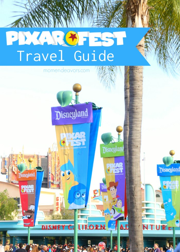 Disney Pixar Fest Travel Guide