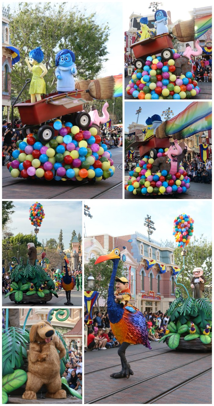 Pixar Play Parade New Floats